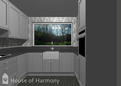 3d image of kitchen in bury st edmunds