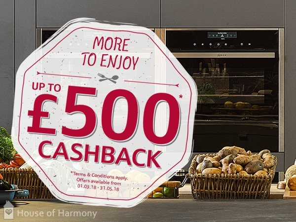 £500 Cash Back