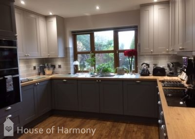 After of schuller kitchen in Lavenham
