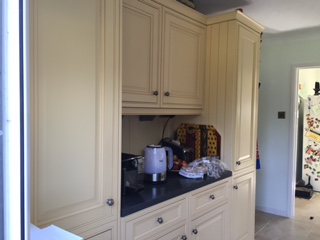 Badwell Ash kitchen before