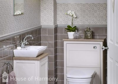 Bathroom gallery - Downton-Shaker-English-Parchment