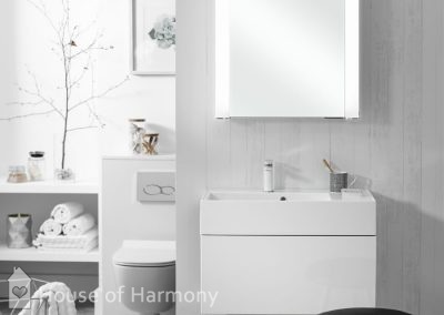 Bathroom gallery - Elite White A