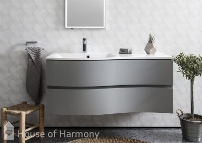 Bathroom gallery - Svelte 1200 Storm Grey A