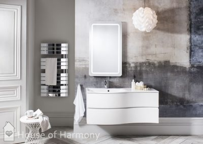 Bathroom gallery - Svelte 1200 White B