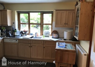 Before image of kitchen Lavenham