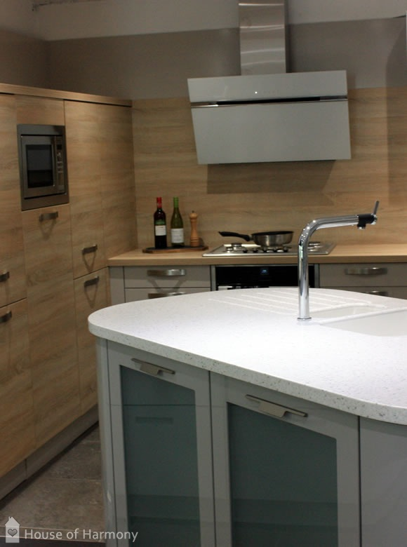 House of Harmony Showroom Schuller kitchen