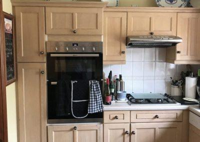 Kitchen before in Lavenham