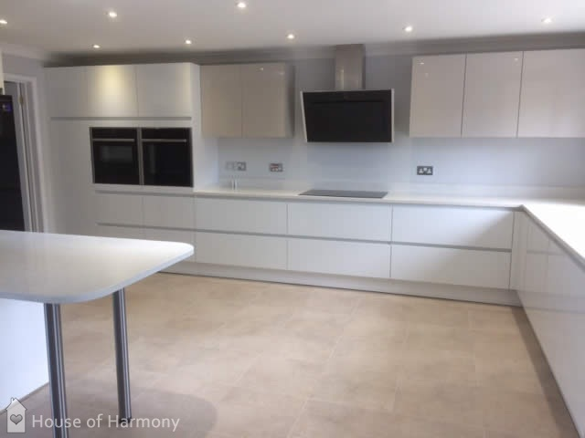 New Kitchen designed and installed by House of Harmony