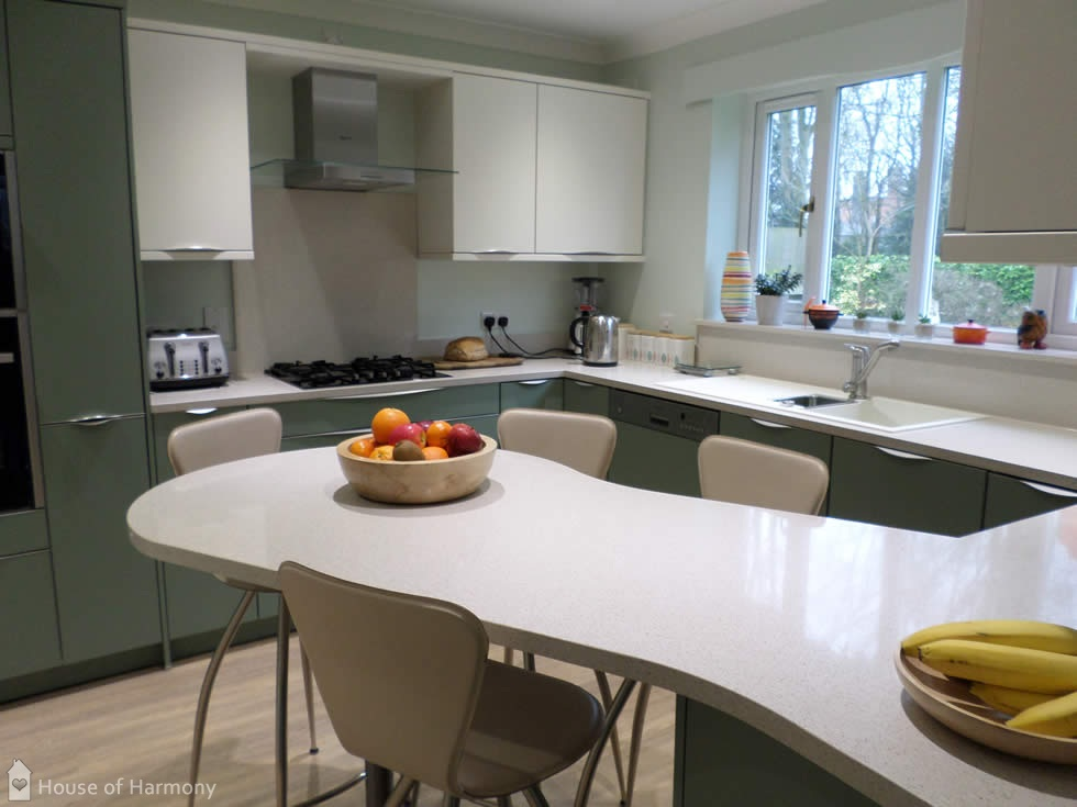 Schüller Kitchen at Bury St Edmunds • House of Harmony