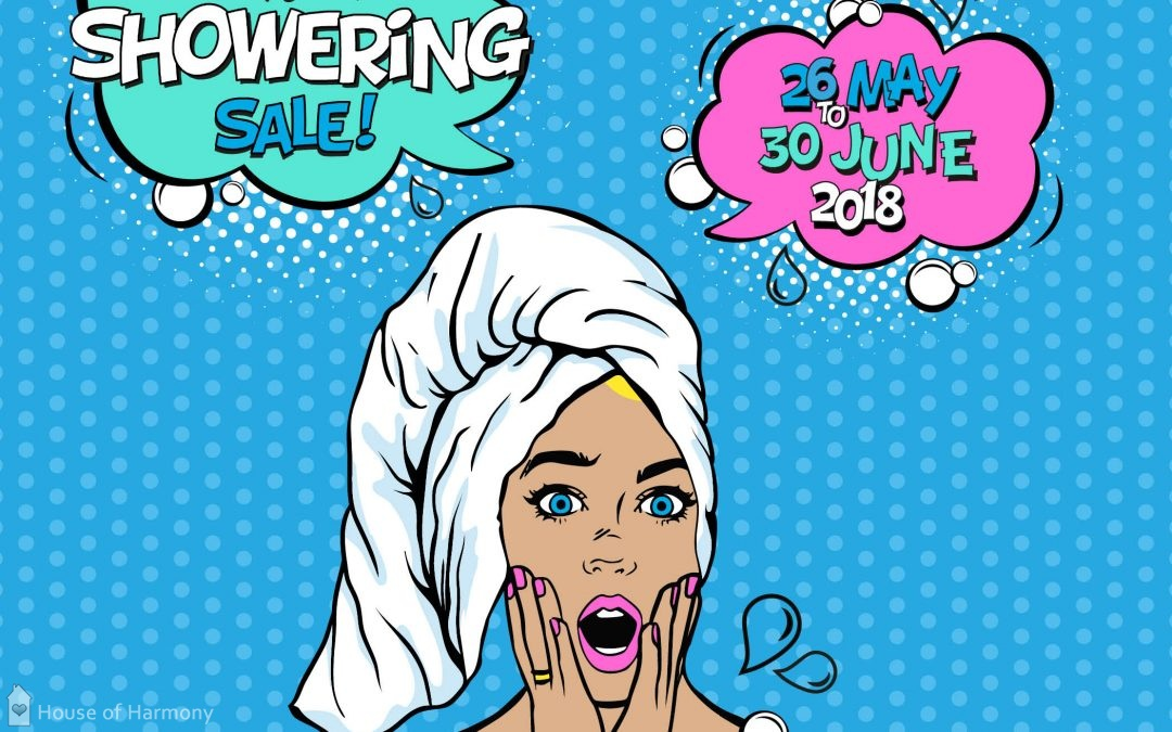 Showering Sale