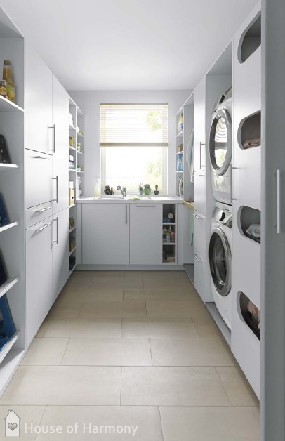 Easy and Clean Utility Rooms